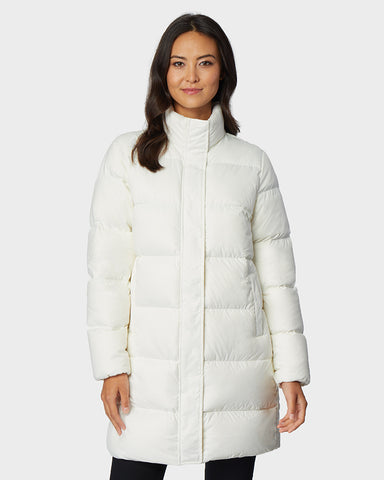 WOMEN'S SHIELD TECH HEAVY DOWN PUFFER JACKET