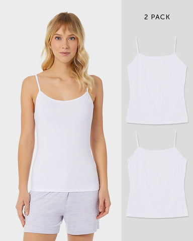 WOMEN'S 2 PACK COOL BASIC CAMI