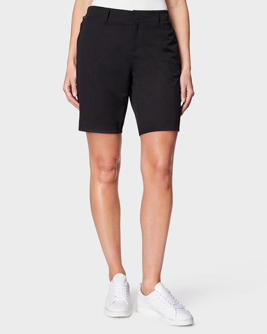 WOMEN'S STRETCH WOVEN BERMUDA