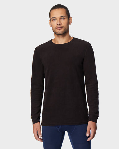 MEN'S HEAVYWEIGHT FLEECE BASELAYER CREW TOP