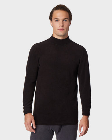 MEN'S HEAVYWEIGHT FLEECE BASELAYER MOCK TOP