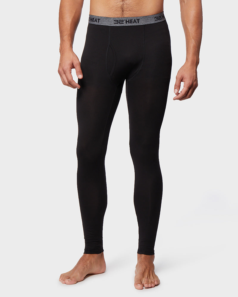 2-Pack 32 Degrees Men's Lightweight Base Layer Leggings