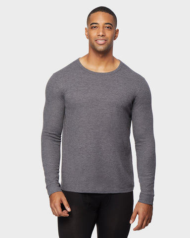 MEN'S MIDWEIGHT WAFFLE BASELAYER CREW TOP