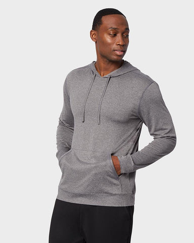 MEN'S COOL LONG SLEEVE HOODED T-SHIRT