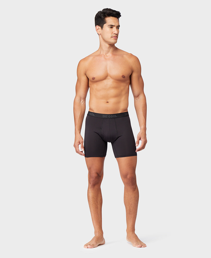 6-Pack 32 Degrees Men's Active Mesh Boxer Brief