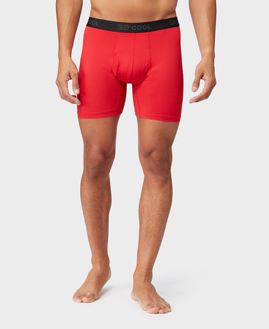 MEN'S ACTIVE MESH BOXER BRIEF