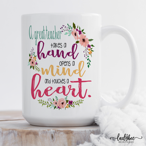 A Great Teacher - LadyBee Boutique Mugs