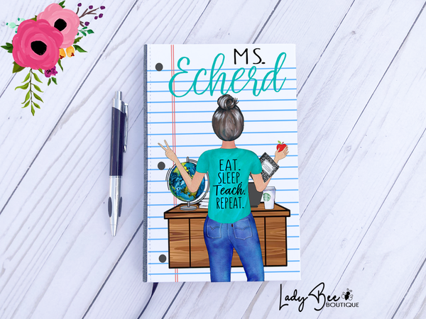 Personalized Teacher Notebook
