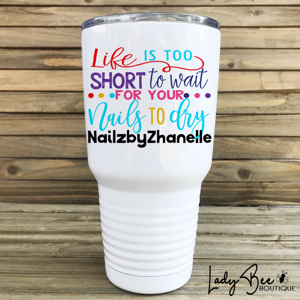 Custom Order: Zhanelle W - LadyBee Boutique Mugs