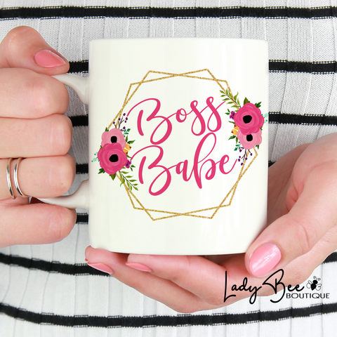 Boss Babe Mug - LadyBee Boutique Mugs