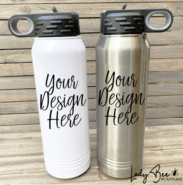Custom 32oz Water Bottle