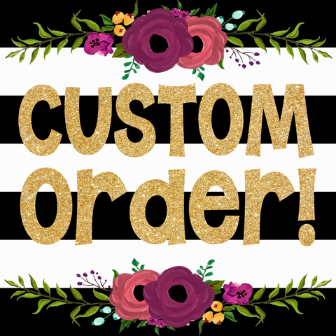 Custom Order for Charissa A - LadyBee Boutique Mugs