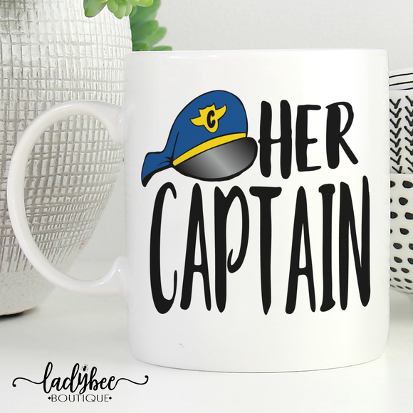 Her Captain Mug - LadyBee Boutique Mugs