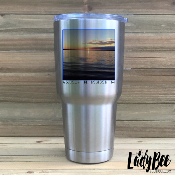 Photo Tumbler - LadyBee Boutique Mugs