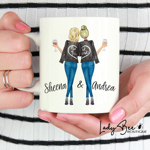 Best Friends Mug - LadyBee Boutique Mugs