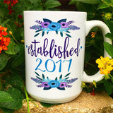 Only the best moms get promoted to grandma, Blue - LadyBee Boutique Mugs