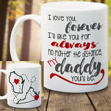 States Mug Friends from different states - LadyBee Boutique Mugs