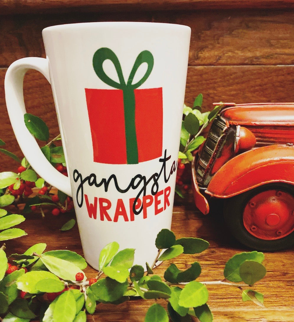 Gangsta Wrapper Mug - LadyBee Boutique Mugs