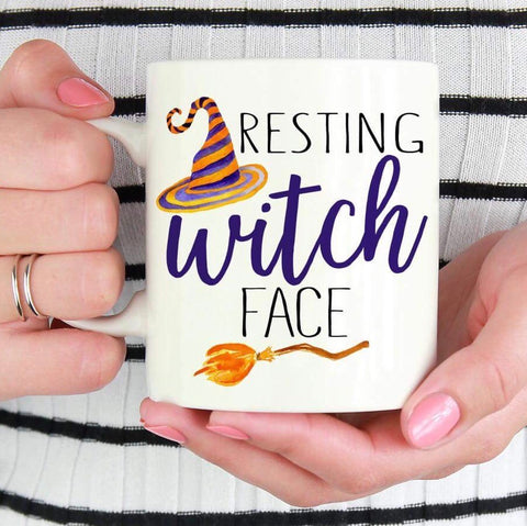 Resting Witch Face - LadyBee Boutique Mugs
