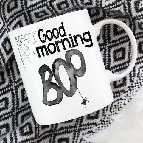 Good Morning Boo - LadyBee Boutique Mugs