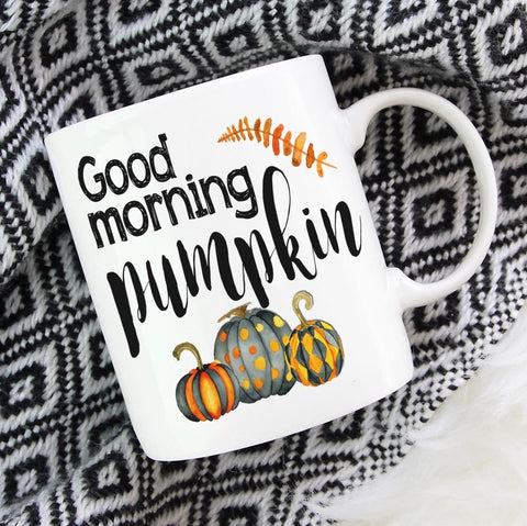 Good Morning Pumpkin - LadyBee Boutique Mugs