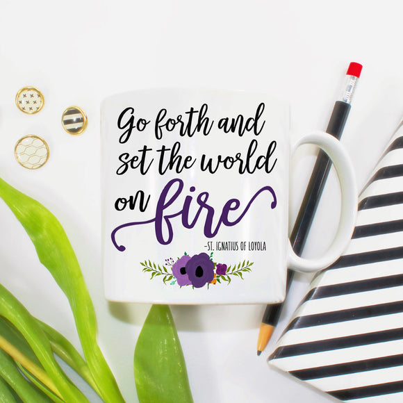 Set the World on Fire - LadyBee Boutique Mugs