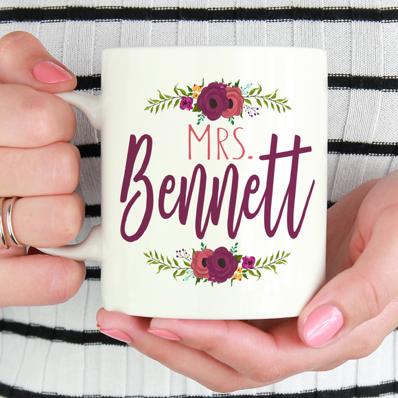 Mrs. Teacher Mug - LadyBee Boutique Mugs