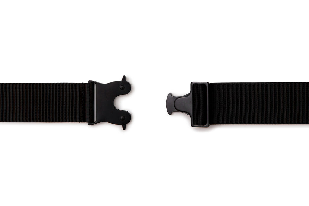 'XPX BUCKLE NYLON BELT IN BLACK