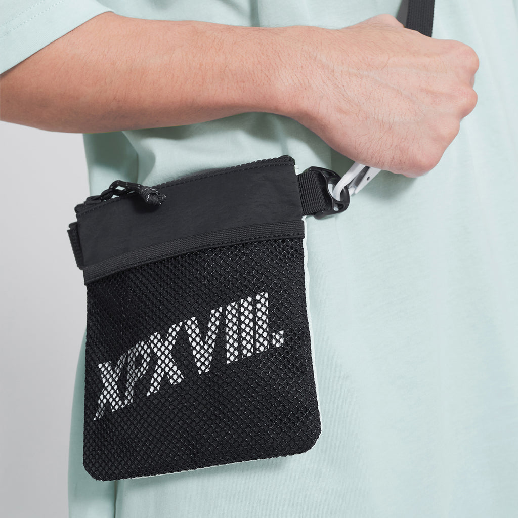 'XPX BLACK &WHITE TWO TONE CROSSBODY BAG