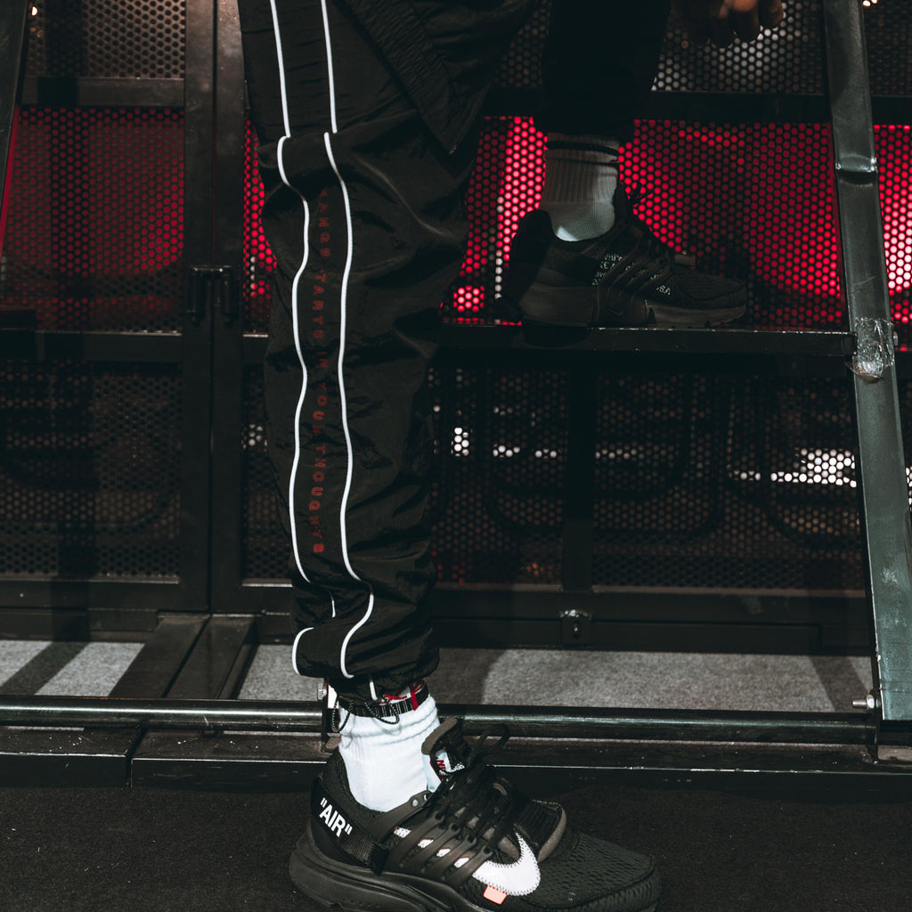 XPX RED LABEL NYLON TRACK PANTS