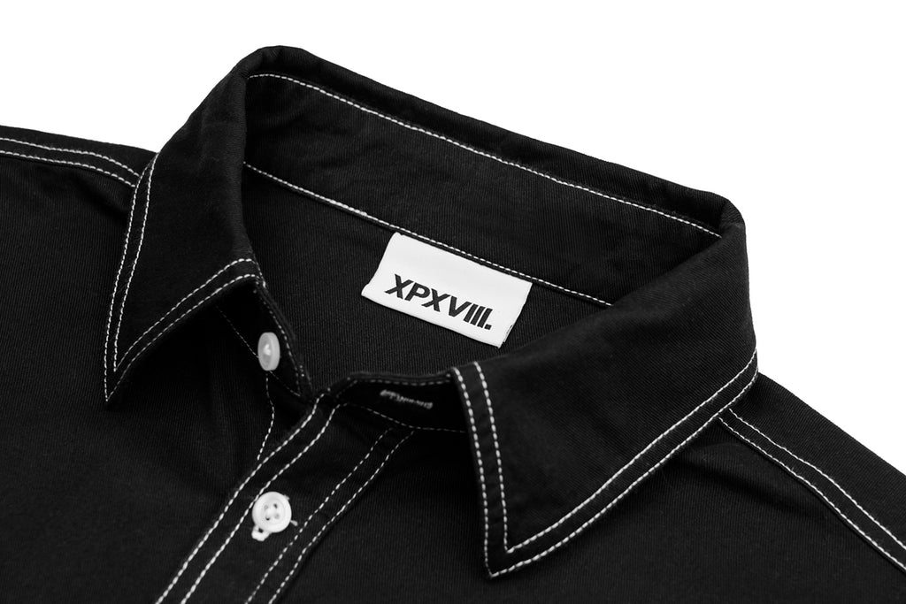 'XPX CONTRAST STITCHING SHIRT