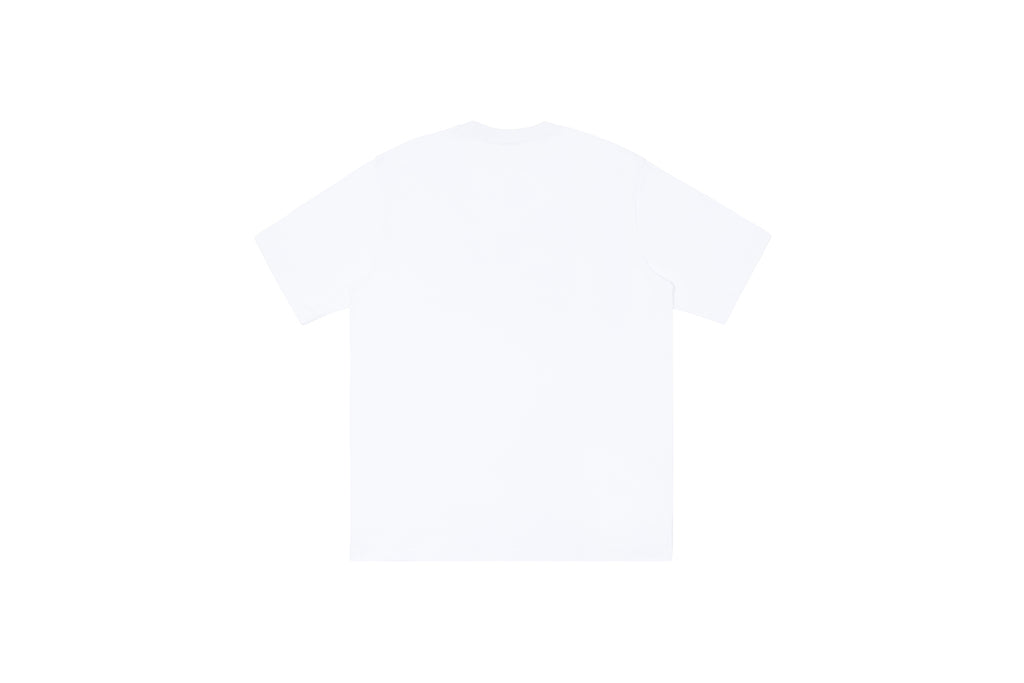 'XPX GALAXY BOX LOGO WHITE CREW NECK TEE