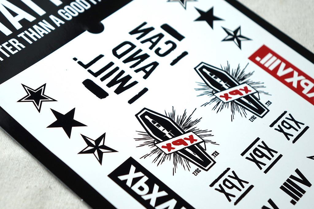 XPX Tattoo Sticker 2.0