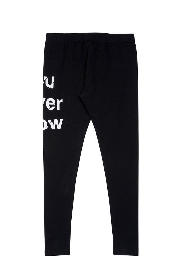 "XPX ""YOU NEVER KNOW"" LEGGINGS"