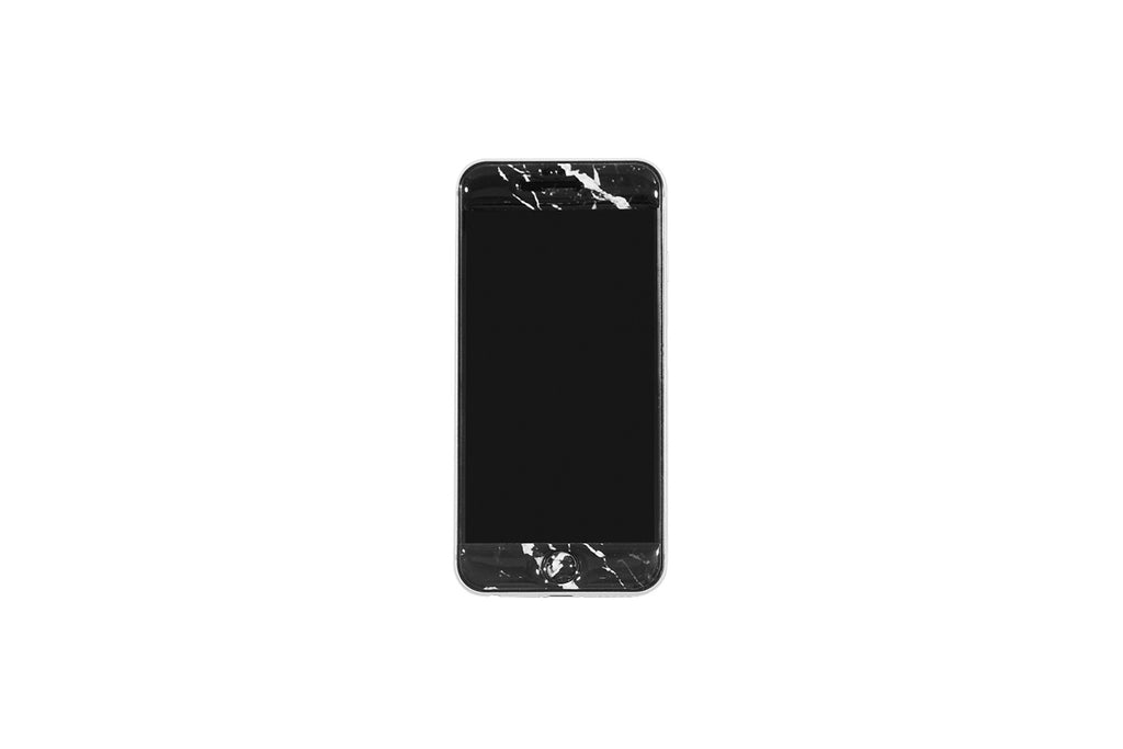XPX MARBLE PRINT iPHONE STICKER BLACK iPHONE 6