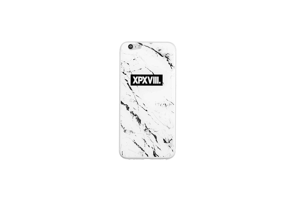 XPX MARBLE PRINT iPHONE STICKER WHITE iPHONE 6