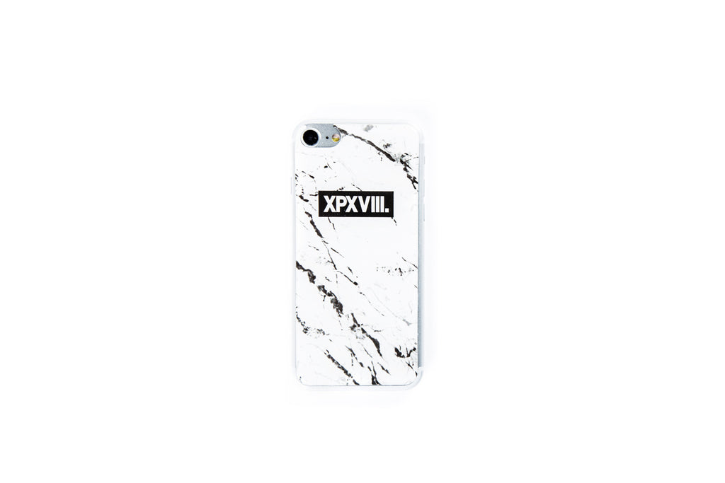 XPX MARBLE PRINT iPHONE STICKER WHITE iPHONE 7
