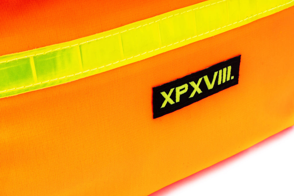 'XPX FLUO FANNY PACK IN FLUO ORANGE