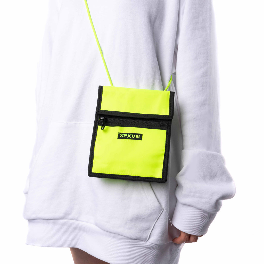 XPX FLUO YELLOW EXPLORER POUCH