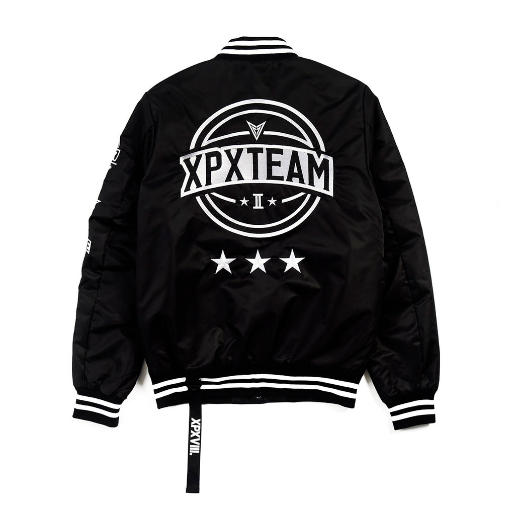 XPX TEAM 2ND ANNIVERSARY VARSITY JACKET