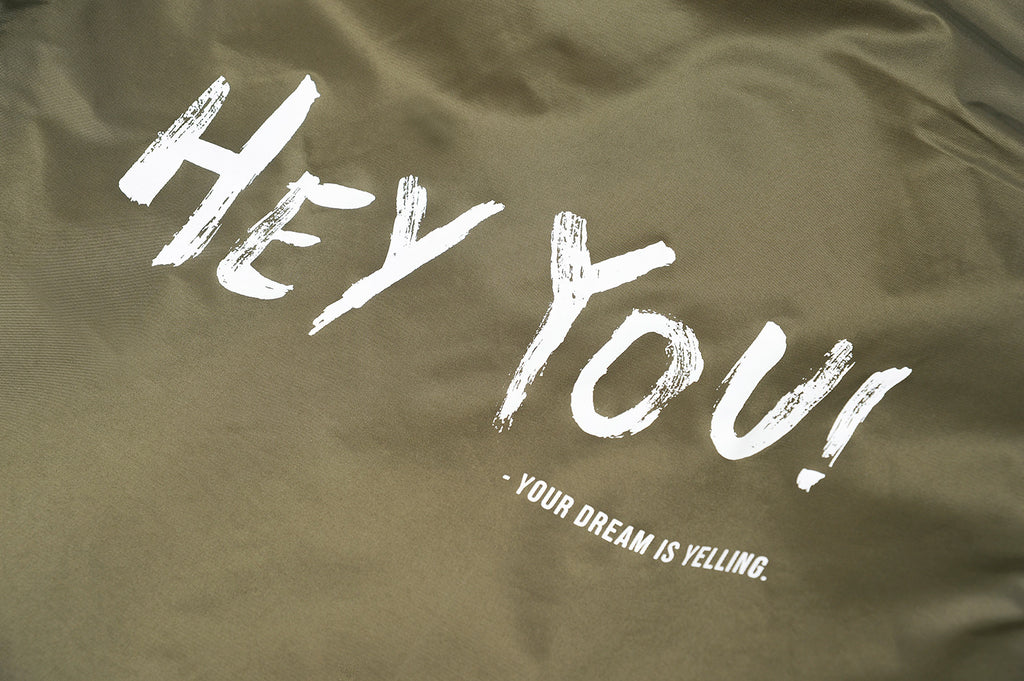 "XPX ""HEY YOU"" KHAKI N3B JACKET"