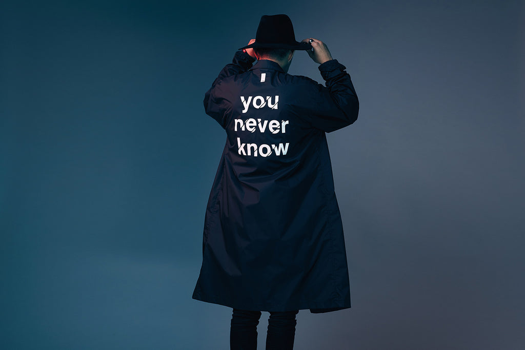 "XPX ""YOU NEVER KNOW"" LONG WINDBREAKER"