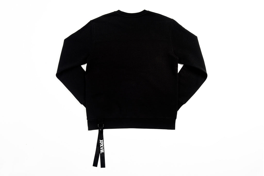 XPX 3 STARS PATCH SWEATER