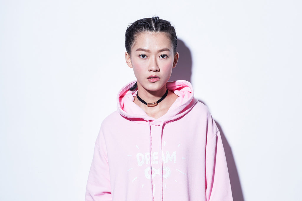 "XPX DREAM ""INFINITY"" PINK HOODIE"