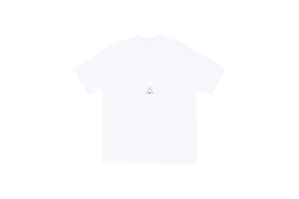 XPX 'IMPERFECT PLANT LIKE' WHITE CREW NECK TEE