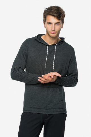 men cory vines hoodie gun grey