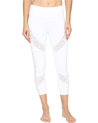 Copy of Alo Charm capri white buff