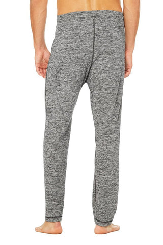 Mens Alo Lounge Pant Grey Marble