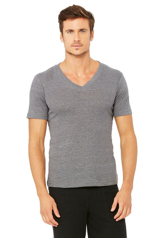 mens Alo v neck grey