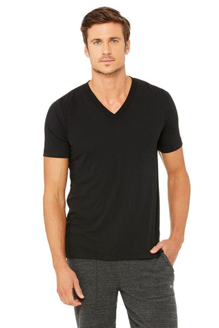mens Alo v neck black